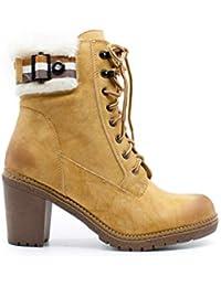 6adbec799 Amazon.es  ZAPSHOP - Botas   Zapatos para mujer  Zapatos y complementos