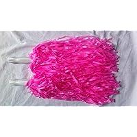 5 pares de pompones de animadora para despedida de soltera, color rosa