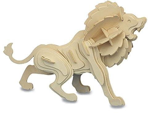 Lion QUAY Kit de construction en bois