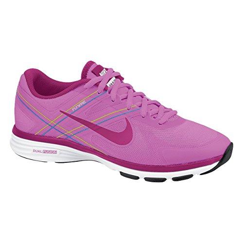 Nike Damen Sneaker Trainingsschuhe Dual Fusion TR 2 631459-500 (EU 38 (UK 4,5), Pink) (Nike Fusion Frauen)