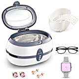 Ultrasonic Cleaner, YKS 600mL Jewellery Cleaner Ultra Sonic Bath with Cleaning Basket