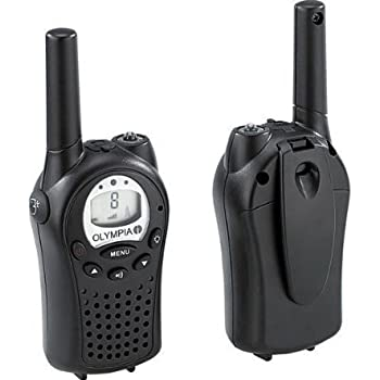 Olympia PMR Model 1120 Talkie-Walkie Noir
