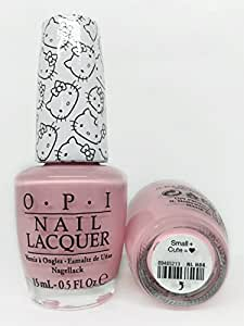OPI Nail Lacquer - Hello Kitty Collection - Small + Cute = - 15ml / 0.5oz