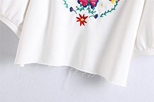 COCO clothing - Pull de sport - Cache-cœur - Femme Weiß