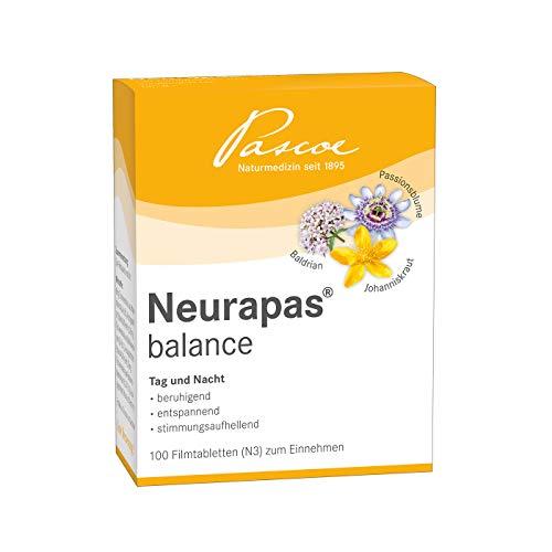 Neurapas balance | beruhigend, entspannend & stimmungsaufhellend | 100 St