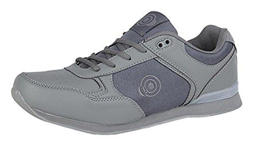 Dek Herren Bowling- & Kegelschuhe Grau Grau