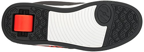 Heelys Unisex-Kinder Propel 2.0 (770508) Sport & Outdoorschuhe Charcoal/Orange/Ballistic