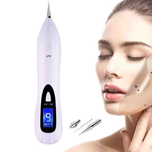 AMINSHAP Hautmarkenentfernung, Tragbare USB-Lade-Sommersprossen-Naevus-Entfernungs-Werkzeugmaschine,...