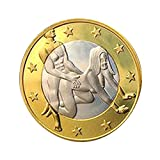 Btruely Adultos Juego Sexual Juguete 1 Pc Sexo 6 Monedas Euro...