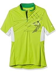 Ziener Niños Bike camiseta cersten, infantil, color Verde - lima, tamaño 17 años (176 cm)