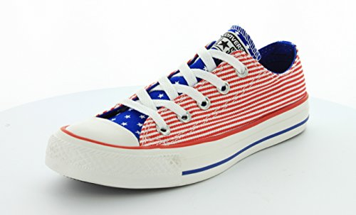 Converse - Chuck Taylor All Star Ox Chaussures Red/White/Blue