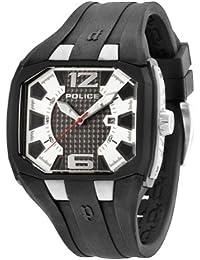 Police Pomona Herren-Armbanduhr Analog Quarz Silikon - PL.93882AEU/04