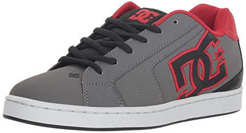 00f49d1506 DC Shoes Men s Net Low Top Sneaker Shoes Gray Blk Gry 10