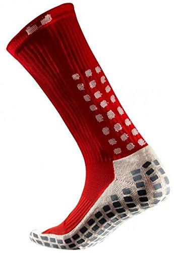 TruSox Mittler-Kalb-Socken dünn Größe M red