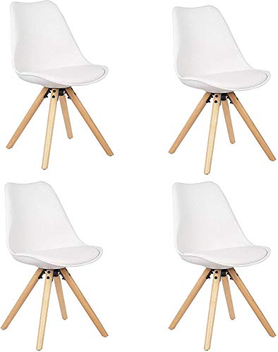 Silla Nórdica Pack 4 - Silla scandi Blanca - silla