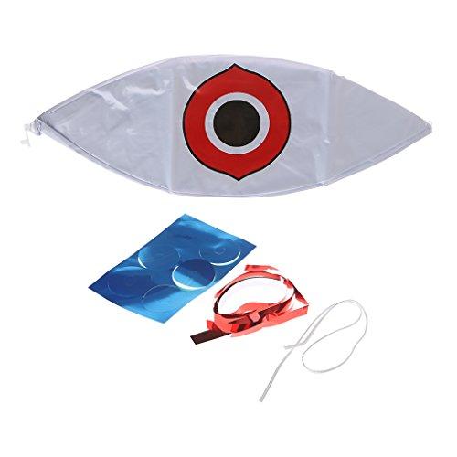 zrshygs Vogelschutzmittel Angst-Augen-Ballons stoppt Schädlingsbekämpfung Schnell Zuverlässige visuelle Abschreckung -