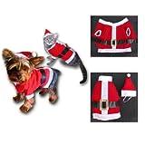 Kostüm für Katzen, Weihnachts-Look