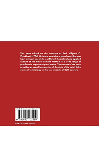 The finite element method in the 1990's: A Book Dedicated to O.C. Zienkiewicz