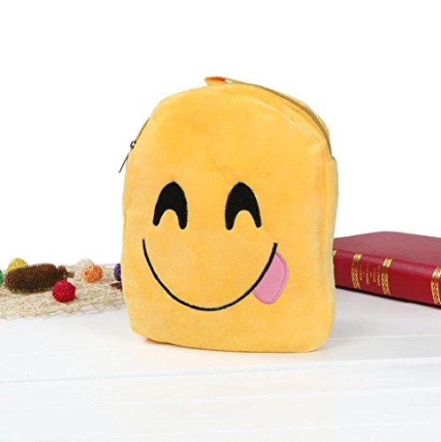 Imagen de  mujer sannysis mujeres bolsos de emoji con cremallera 01  alternativa