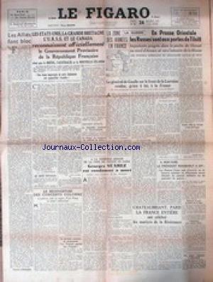 FIGARO (LE) [No 56] du 24/10/1944 - LES ...