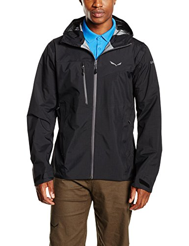 Salewa – Giacca uomo Puez PTX 3L Black Out
