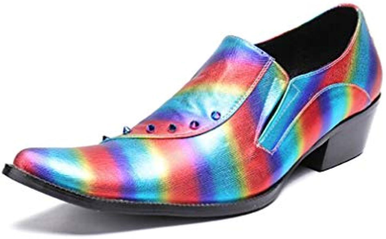 YaXuan Zapatos de Hombre/Zapatos de Punta Estrecha/Primavera / Otoño/Invierno Zapatos Formales/Zapatos Ocasionales...