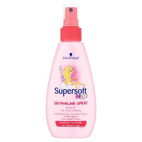 Schwarzkopf Supersoft Kids Girls Detangling Spray, 150ml