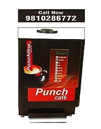 Punchline Four Lane Vending Machine Tea, Coffee, Soup, Lemon Tea