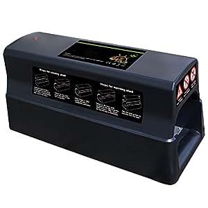 pi ge souris l ctrique pi ge lectrique batterie ou aussi raccordable au r seau amazon. Black Bedroom Furniture Sets. Home Design Ideas