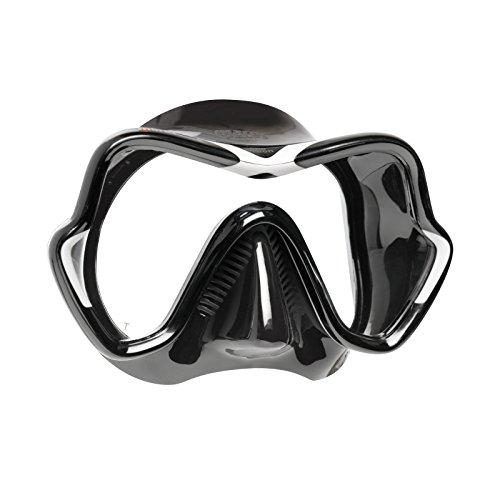 Mares Erwachsene Mask ONE Vision Taucherbrille Weiss/Schwarz BX