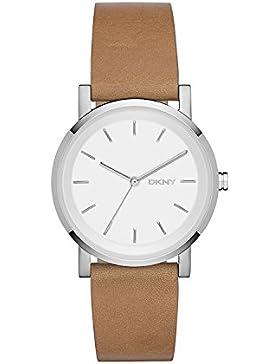 DKNY Damen-Armbanduhr SOHO Analog Quarz Leder NY2339