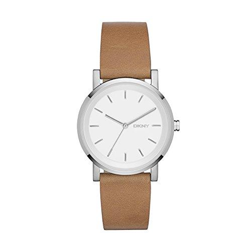 DKNY Damen-Armbanduhr SOHO Analog Quarz Leder NY2339 (Leder Uhren Dkny Damen)