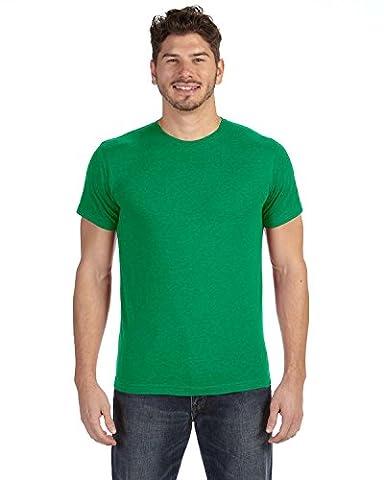 Lat Adult Vintage Fine Jersey T-Shirt (Vintage Green) (2X) (US)