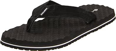 Skechers Men's Unix Fedele Sandals 63018 Blk Black 6 UK