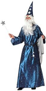 Atosa-10156 Disfraz Mago, color azul, M-L (10156)