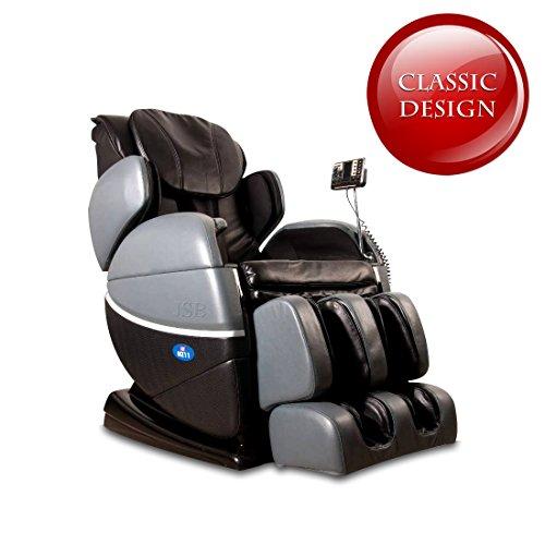 JSB MZ11 Zero Gravity Massage Chair (Gray/Black)