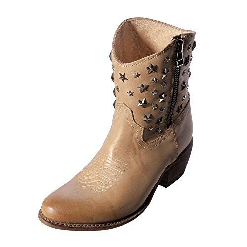 Sancho Boots, Stivali donna blank, (MASK NOCCIOLA), 38