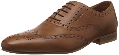 Red Tape Men's Tan Leather Formal Shoes - 8 UK/India (42 EU)