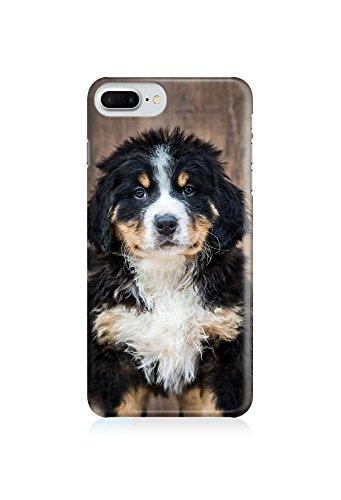 COVER Hund Welpe Tier front Design Handy Hülle Case 3D-Druck Top-Qualität kratzfest Apple iPhone 8 Plus