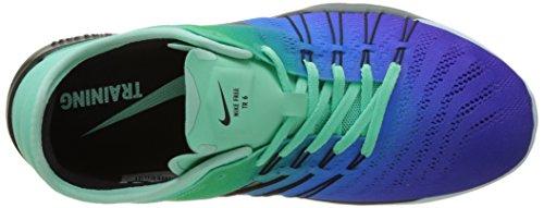 Nike 849804-300 Damen Turnschuhe Mehrfarbig (Green Glow/glacier Blue/hasta/black)