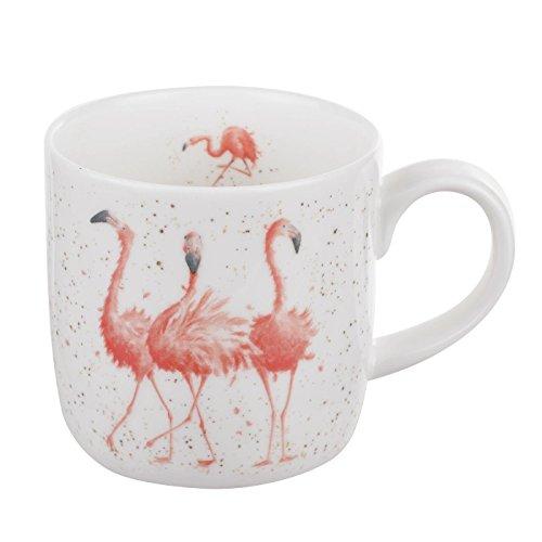 Wrendale Pink Ladies (Flamingos) Royal Worcester Fine Porcelain