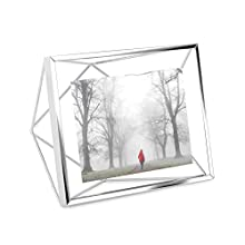 Umbra Prisma multi-photo frame made of steel, chrome