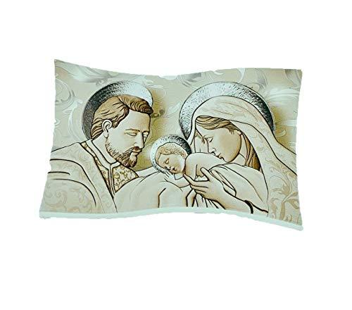 Vetrineinrete® Quadro su tela con sacra famiglia natività ...