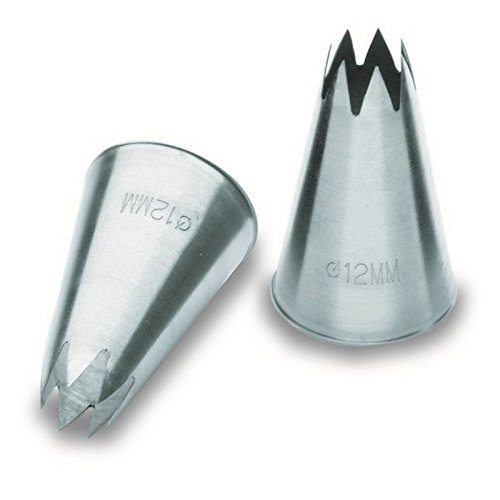 Lacor 68924 Douille Cannelée 4 Mm Inox 18 / 10