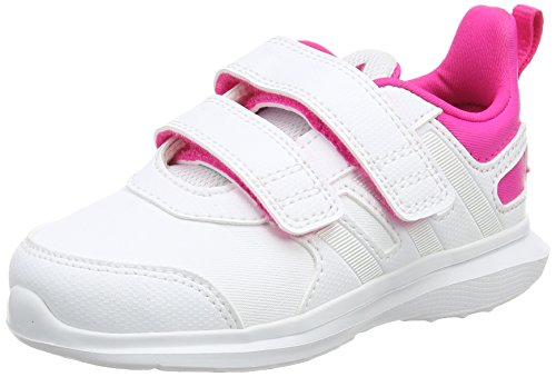 adidas Hyperfast 2.0 Cf i, Sneaker a Collo Basso Unisex – Bambini Bianco