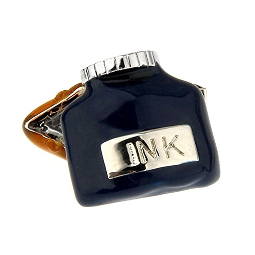 mens-jewelry-wedding-cuff-links-ink-cartridge-and-pen-modeling-cufflinks