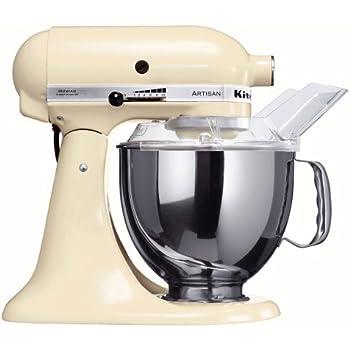 Amazon.de: KitchenAid Küchenmaschine Artisan weiß 5KSM150PSEWH