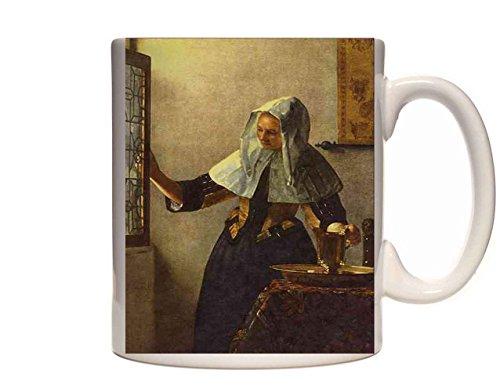 Mug 0406 492002 Young Woman With A Water Jug Jan Vermeer Van Delft Ceramic Cup Gift Box