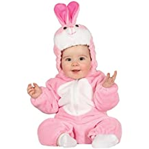 Baby Bunny Rabbit Cute Pink Fancy Dress Costume 6-12 Months
