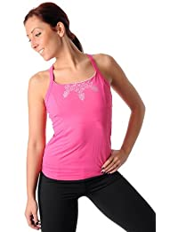 PURE LIME Corset Cami camisole top shirt rose